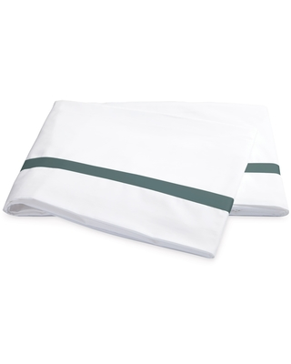 Matouk Lowell 600 Thread Count Flat Sheet, Size Full/Queen - White