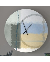 Discover Deals On Consentaneous Nubile Abstract Wall Clock Ebern Designs Size Large