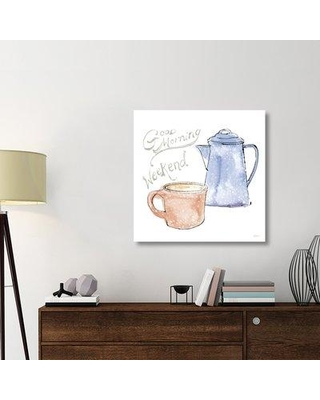 """East Urban Home 'Girlfriends Cabin V' Graphic Art Print on Canvas UBAH5803 Size: 36"""" H x 36"""" W x 1.5"""" D"""