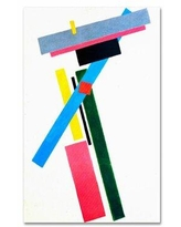 Shop Kazimir Malevich Suprematic Painting 18 X27 Gallery Wrapped Canvas P
