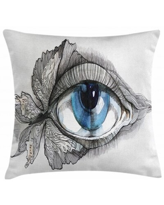 """Indoor / Outdoor 40"""" Throw Pillow Cover East Urban Home"""
