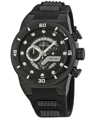 Invicta S1 Rally Chronograph Black Dial Mens Watch 24228
