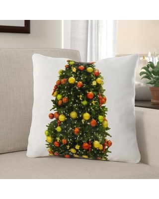 Great Sales On Enfield Christmas Indoor Outdoor Canvas Throw Pillow The Holiday Aisle