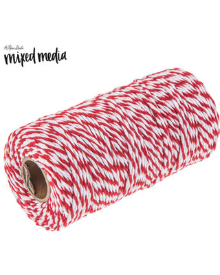 Red & White Twine