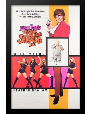 LuxeWest Austin Powers 'The Spy Who Shagged Me' Framed Autographed Picture in Picture Poster LWPV4-00019