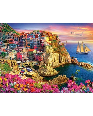 Tropical Island Holiday 1500 PC Puzzle and Poster by Buffalo Games for sale online