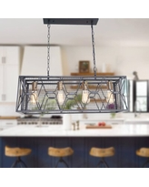 Shop Deals For Gober 4 Light Kitchen Island Geometric Pendant Williston Forge