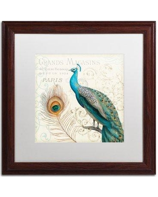 """World Menagerie 'Majestic Beauty II Square' Framed Painting Print WRMG6043 Size: 16"""" H x 16"""" W"""