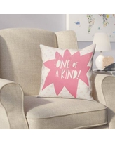 Viv + Rae Kory One of A Kind Throw Pillow VVRE4291 Color: Pink