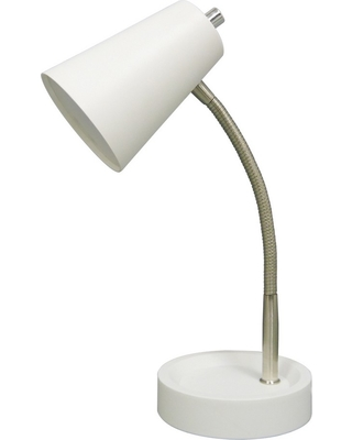 Led Task Table Lamp White (Includes Energy Efficient Light Bulb) - Room Essentials