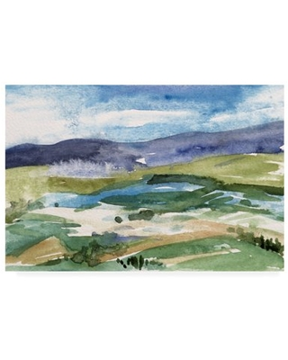 Trademark Fine Art 'Living in the Mountains I' Canvas Art by Melissa Wang
