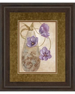 Classy Art Wholesalers Purple Sophistication I by Nan Framed Painting Print DM5302