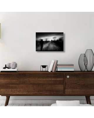 """'The Pilgrims' Graphic Art Print On Wrapped Canvas East Urban Home Size: 16"""" H x 24"""" W x 1.5"""" D"""