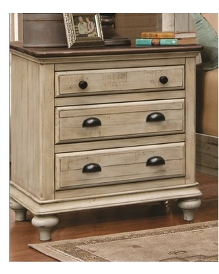 Kennington 3 Drawer Nightstand Gracie Oaks