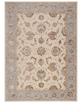 Serenade Hand-Tufted Wool Ivory/Gray Area Rug Michael Amini Rug Size: Rectangle 8' X 11'