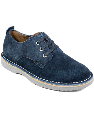 Florsheim Navigator Plain Toe Ox Jr Boys' Toddler-Youth Navy Oxford 11 Toddler M