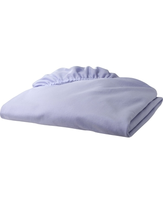 TL Care Jersey Cotton Fitted Crib Sheet - Lavender, Lvndr