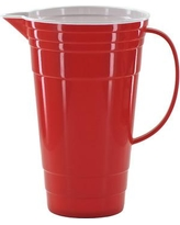 Mr Ice Bucket Red Party Pitcher 407-3