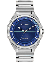 Drive from Citizen Mens Silver Tone Stainless Steel Bracelet Watch Bj6530-54l, One Size