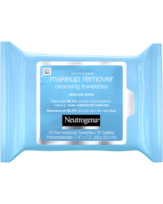 Neutrogena Makeup Remover Cleansing Towelettes & Face Wipes, 25 ct