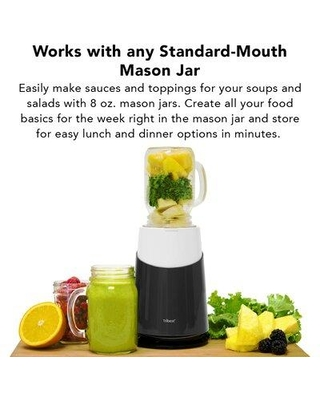 Tribest Tribest Jar Ready Personal Blender PB-410WH Color: Gray