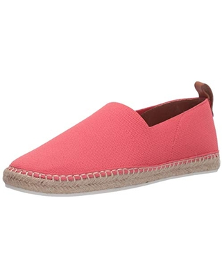 Gentle Souls by Kenneth Cole Women's Slip on Flat Loafer, Bright Pink, 10