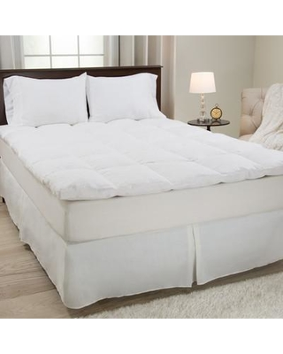"""Lavish Home 2"""" Feathers Mattress Topper 64-17- Size: Queen"""