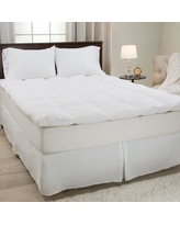 "Lavish Home 2"" Feathers Mattress Topper 64-17- Size: Queen"