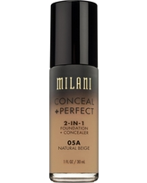 Milani Conceal + Perfect 2-in-1 Foundation 05A Natural Beige 1floz