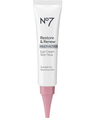 On Sale NOW! 10% Off No7 Restore & Renew Multi Action Eye