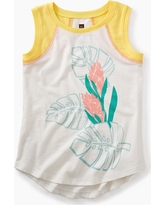 Tea Collection Ginger Flower Graphic Tunic
