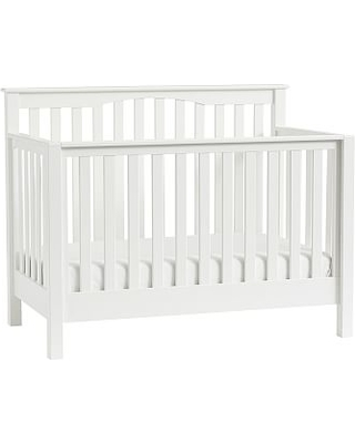 Kendall 4 In 1 Convertible Crib Simply White Flat Rate