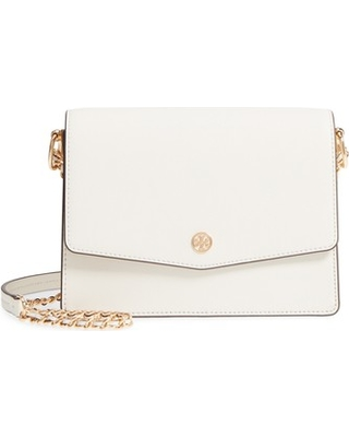 Tory Burch Robinson Convertible Leather Shoulder Bag White From Nordstrom Paing
