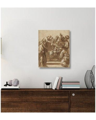 "East Urban Home 'Adoration of the Magi' Acrylic Painting Print on Canvas ETUC6270 Size: 30"" H x 25"" W x 1.5"" D"