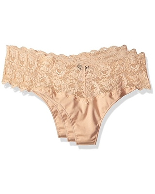 Cosabella Womens Plus-Size Never Say Never Lovelie Thong Panty