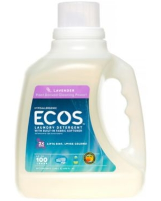 Earth Friendly Products Ecos 100 Fl. Oz. Laundry Detergent In Lavender
