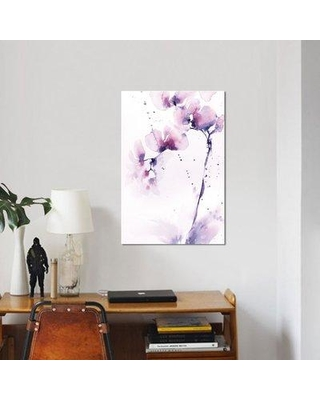 """East Urban Home 'Orchids' Graphic Art on Canvas UBAH4401 Size: 26"""" H x 18"""" W x 1.5"""" D"""