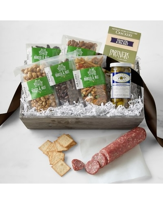 Dried Fruit, Nuts & Savory Gift Basket