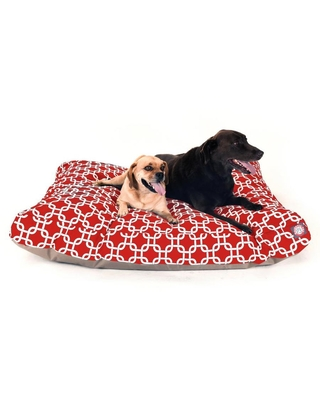 Majestic Pet Products Red Polyester Rectangular Dog Bed (For Extra Large) | 788995504290