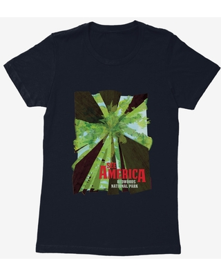See America Redwoods National Park Womens T-Shirt