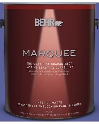 BEHR MARQUEE 1 gal. #P550-6 Wizards Potion One-Coat Hide Matte Interior Paint and Primer in One