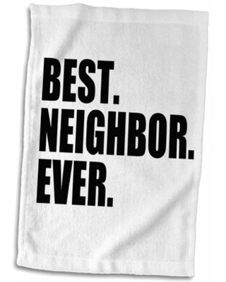 Check Out Deals On Charterhouse Best Neighbor Ever Hand Towel Symple Stuff