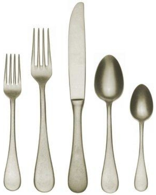 MEPRA Vintage Champagne 5pc 18/10 Stainless Steel Flatware Set Service for 1 1095VI22005