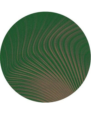 East Urban Home Abstract Green Area Rug X111803823 Rug Size: Runner 2' x 5'