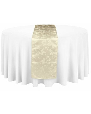 Radley Falling Lilies Table Runner House of Hampton® Color: Ivory