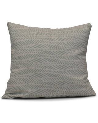 "Simply Daisy 16"" x 16"" Rolling Waves Geometric Print Pillow"