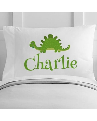 Personalized Dinosaur Toddler Pillow Case
