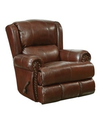 Snyder Deluxe Glider Recliner (Brown)
