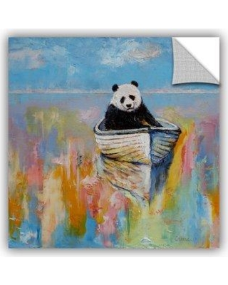 """ArtWall Panda by Michael Creese Removable Wall Decal 0cre036a Size: 24"""" H x 24"""" W x 0.1"""" D"""