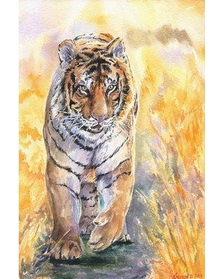 "World Menagerie 'Taj Mahal' Painting Print on Wrapped Canvas WLDM5121 Size: 30"" H x 20"" W x 1.5"" D"